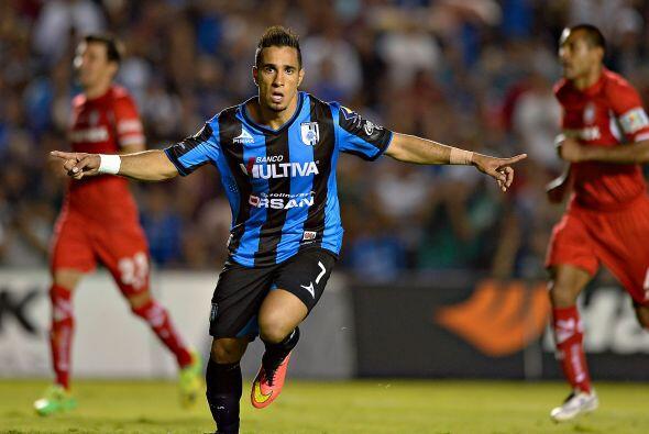 Aunque estuvo parado todo el torneo con el Querétaro por una lesión en l...