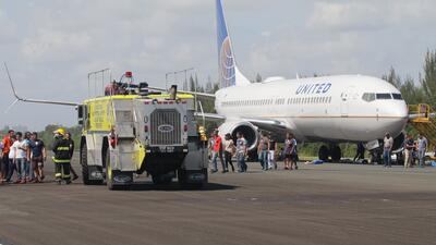 Así fue el simulacro de accidente aéreo en el aeropuerto Luis Muñoz Marín