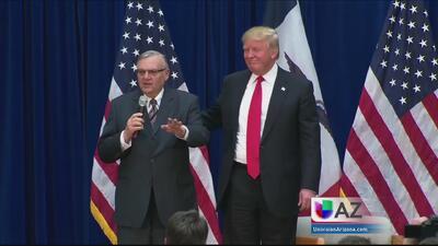 Comunidad inmigrante reacciona a respaldo de Arpaio a Trump
