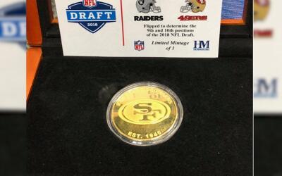 La suerte estuvo del lado de los 49ers, que tendrán el novena sel...