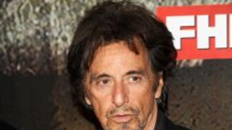 Al Pacino es considerado uno de los mejores actores de los últimos tiempos.