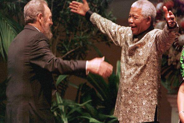 En 1994, Nelson Mandela se convertía en el primer presidente negr...