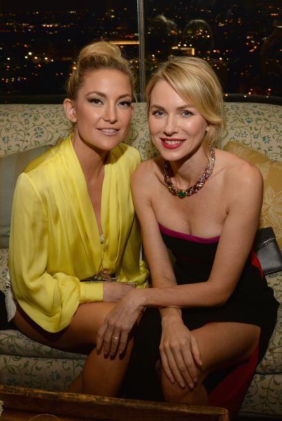 Kate Hudson y Naomi Watts como dos grandes amigas en una fiesta pre-Osca...