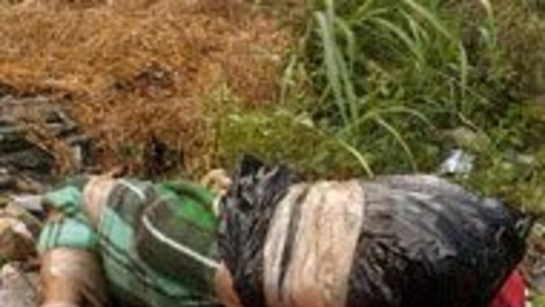 La policía de Durango halló cuatro cuerpos decapitados con narcomensaje...