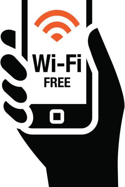 Cada ves que tengas la oportunidad intenta conectarte a una red wifi; y...