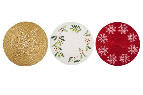 En la cena navideña regálale a tu mesa el toque encantador con unos plat...