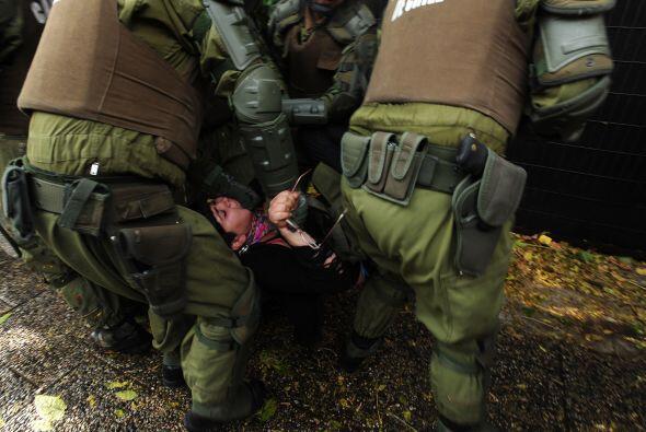 El reporte policial indica que fueron 45, las personas detenidas.