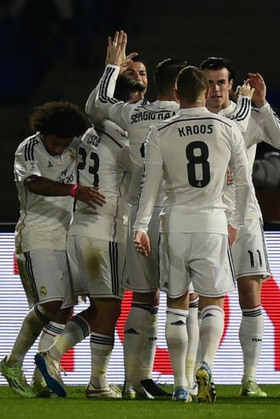 Al minuto 50 los merengues ampliarían el marcador con el gol de G...