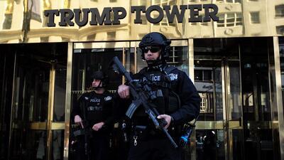 Sexto día de manifestaciones a favor y en contra de Donald Trump en Nueva York