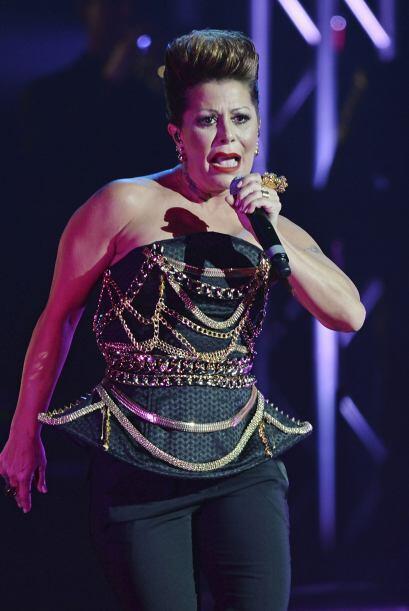 Alejandra Guzmán fue explosiva, como siempre.