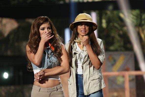 Las chicas superaron sus miedos con un reto bien particular en la cuarta...