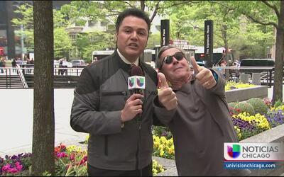 Ricardo Montaner está feliz en Chicago