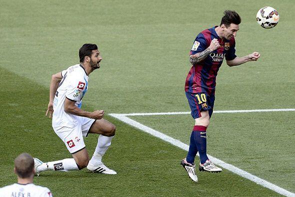 Apenas habían transcurrido 4 minutos cuando Messi hizo el primer gol de...
