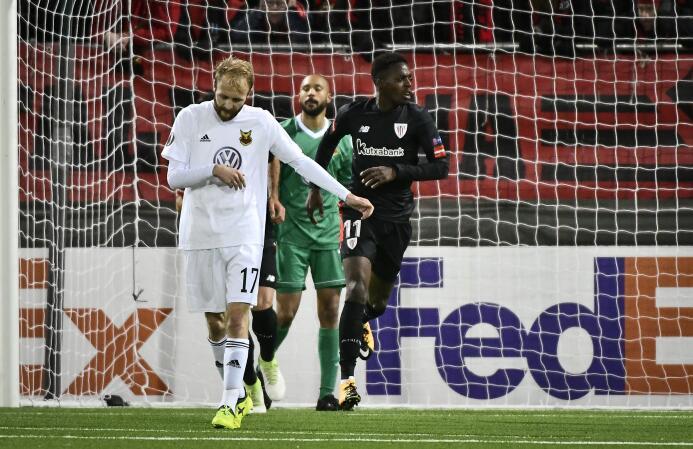 Östersunds 2-2 Athletic Bilbao: sorpresivo empate del equipo vasco en su...