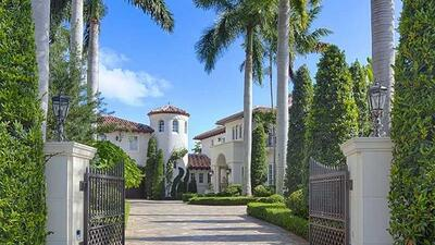 In photos: This is the Miami mansion linked to former Veracruz governor Javier Duarte
