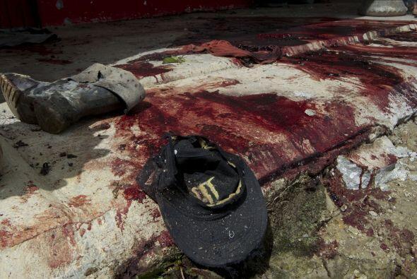 El gobernador no dio detalles sobre los autores de la matanza, que, segú...