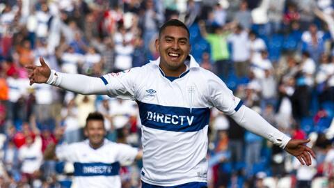 El volante chileno Jeisson Vargas, nuevo futbolista de Montréal Impact.