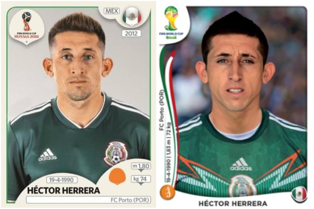 Héctor Herrera - Rusia 2018 / Brasil 2014