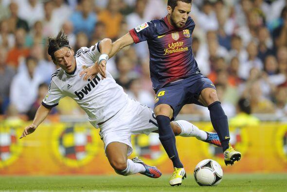 Barcelona insistía y además jugaba mejor a como lo hizo en el primero ti...