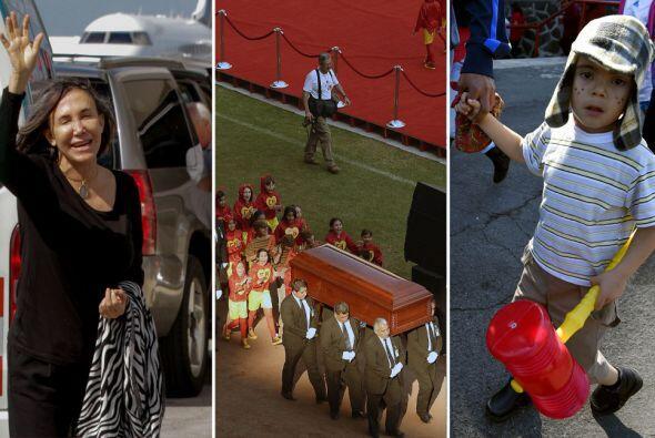 Revive los momentos más conmovedores del adiós a Chespirito.