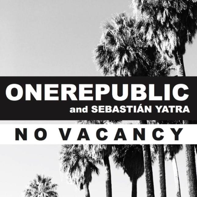 """Con la banda estadounidense OneRepublic grabó """"No Vacancy""""."""