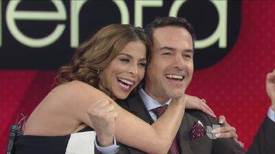 ¡Carlos Calderon se puso nervioso al proponerle a su novia matrimonio!