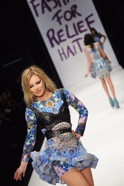Moss ha sido la imagen de firmas de moda como  Gucci, Dolce&Gabbana, Ver...