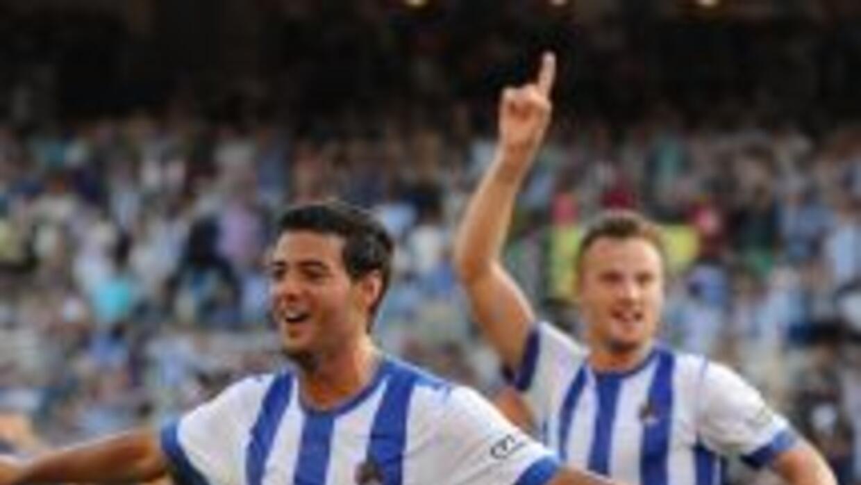 Carlos Vela hizo su segundo gol en igual número de partidos.