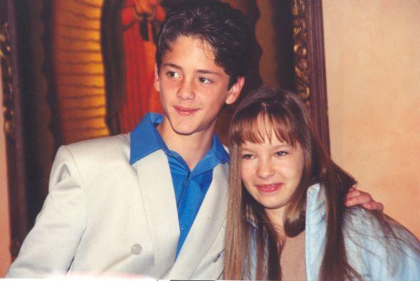 Aunque eran muy pequeños, Belinda y Christopher se hicieron novios en el...