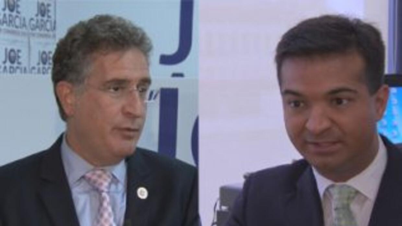 Caliente la campaña entre García y Curbelo
