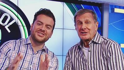 Los conductores de Univision Deportes nunca se pierden 'El Color de la P...