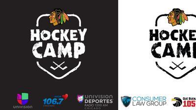 Unete al Campamento de Hockey de los Chicago Blackhawks!