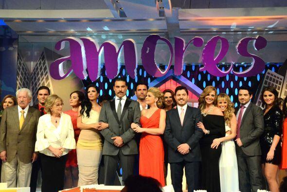 El productor Emilio Larrosa presentó de manera oficial al elenco de la t...