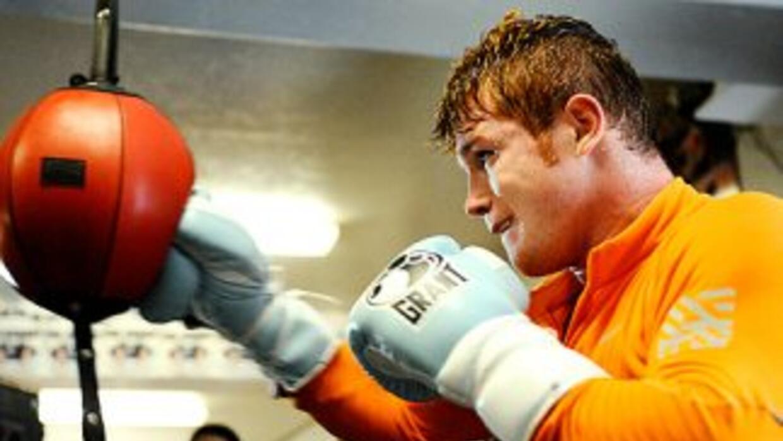 'Canelo' se enfoca en la velocidad para la pelea contra Mosley (Foto: Ca...