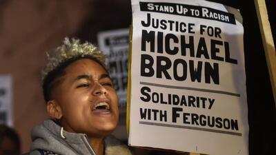 Protestas en todo el país por caso de Michael Brown