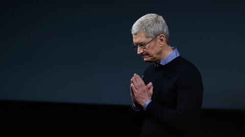 Tim Cook ahora presenta a Apple como una empresa de servicios, además de...