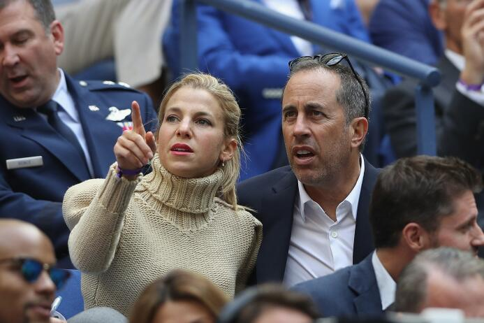 Rafael Nadal: Campeón del US Open Jerry Seinfeld and his wife Jessica Se...