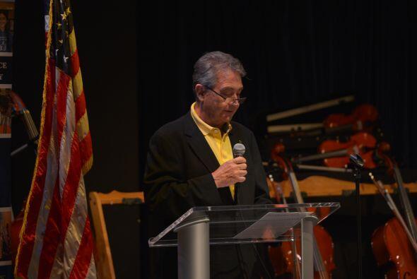 El Vice Presidente de La Fundación Cultural Latin GRAMMY dio unas palabr...