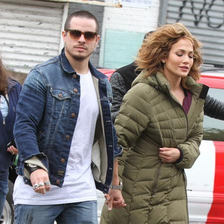 Casper Smart y Jennifer Lopez