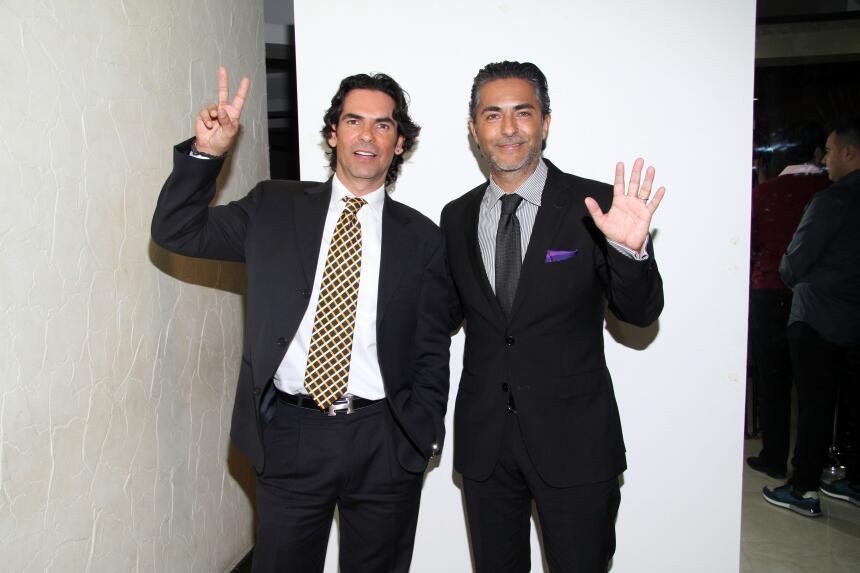 Armando y Raúl Araiza fueron los padrinos de la obra, 'Las muchachas del...