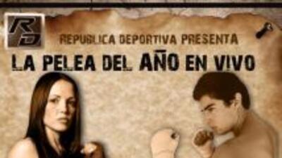 Jennifer Salinas y Danilo pelearán sobre el ring de República Deportiva.