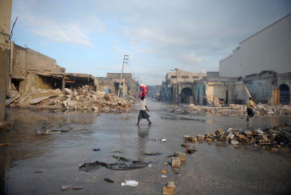 Una tormenta en la península sur de Haití dejó cinc...