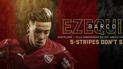 El argentino Ezequiel Barco es el nuevo Jugador Franquicia de Atlanta United