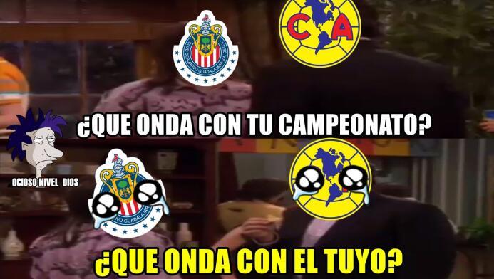 Los memes no perdonaron a Chivas y América por perder sus finales DE6tKz...