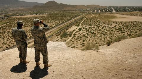 No es la primera vez que la Casa Blanca manda la Guardia Nacional a la f...