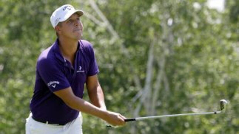 El sueco Fredrik Jacobson se instaló en la cima del torneo de golf de Cr...