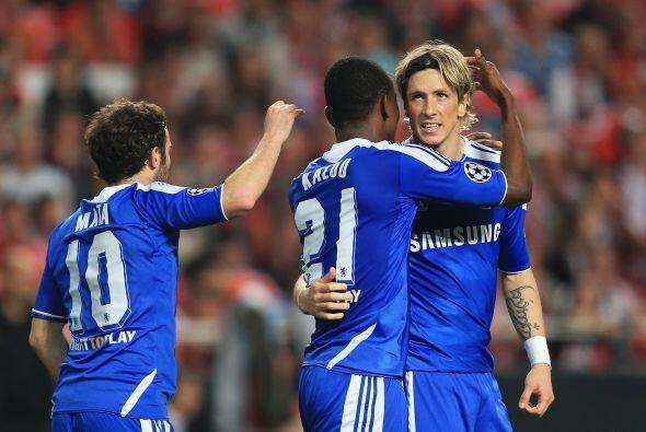 Marcador final de 1-0 para Chelsea en su visita al Benfica. Todo se defi...
