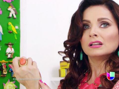 """""""Lucía"""" de """"Corazón Indomable"""" siempre..."""