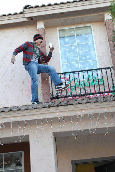 La Navidad en mi casa es sieeeempre de diversión y una qu e otra locura.