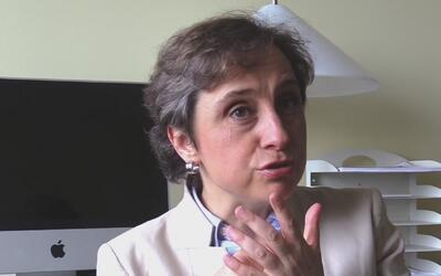 Carmen Aristegui habló sobre las elecciones presidenciales de Estados Un...